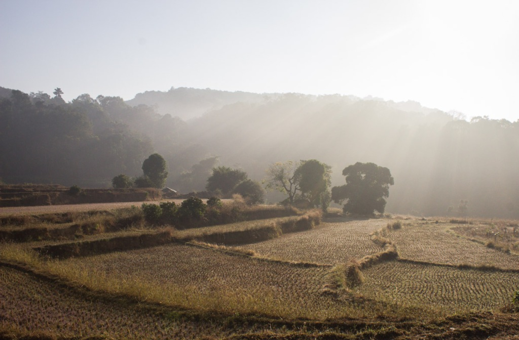 Sunrise at Madikeri