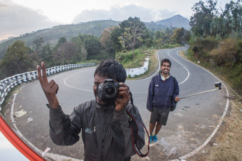 Hairpin route to reach ooty