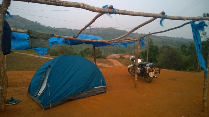 Camping location Madikeri