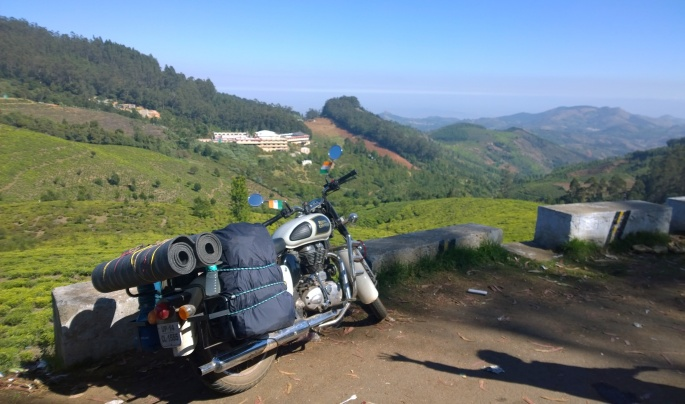 On our way to coonoor