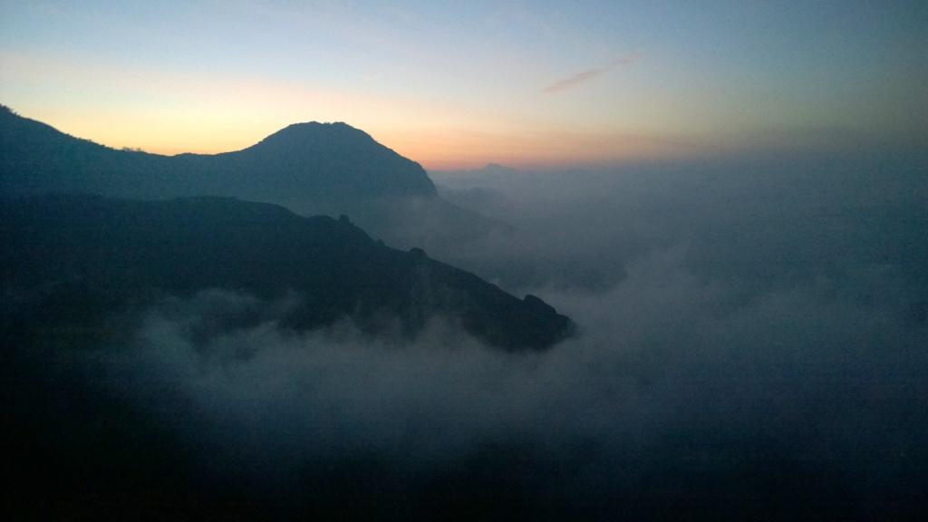 Sunrise at Top station