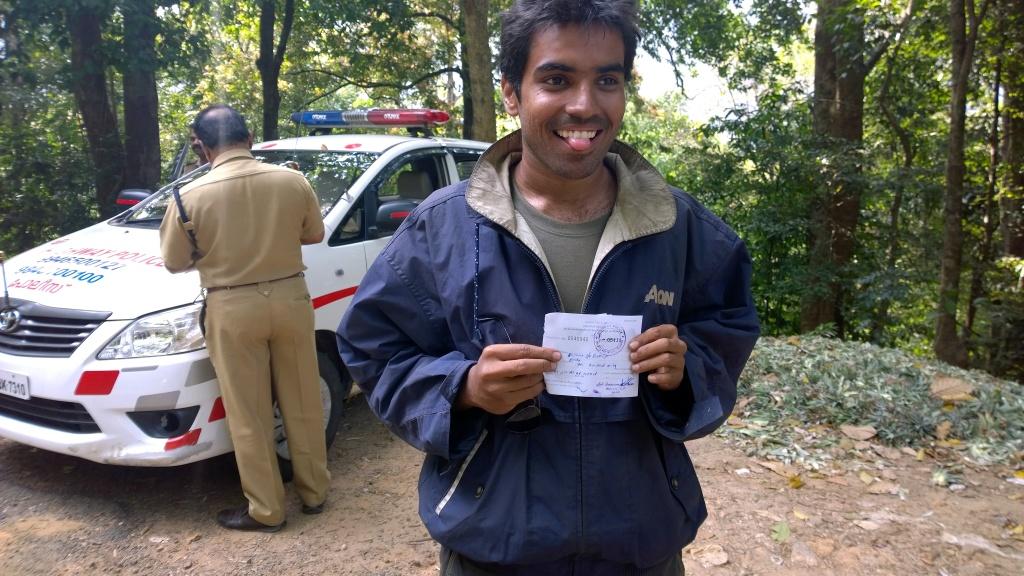 Congrats bhishma for first fine