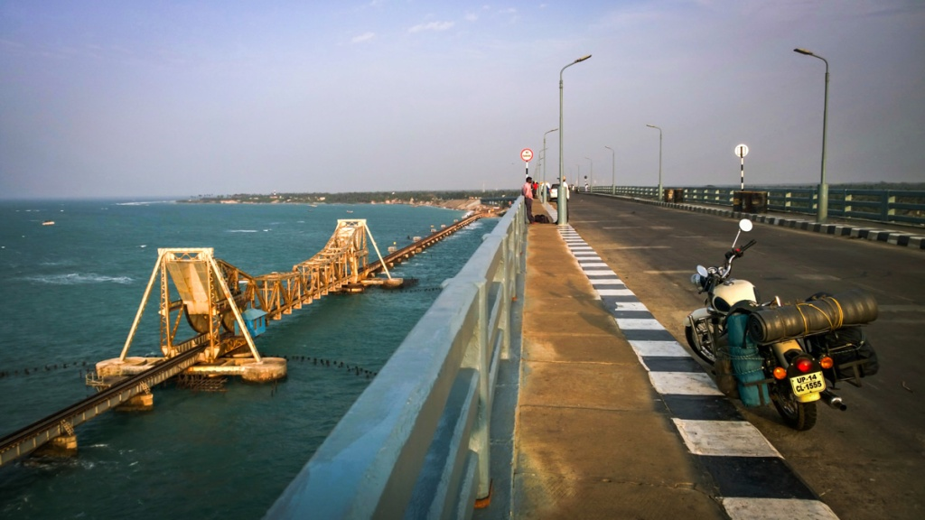 Pamban bridge of Rameshwaram