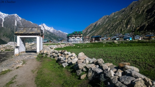 Chitkul village during spiti valley roadtrip