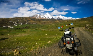 towards kibber asia highest village spiti valley roadtrip