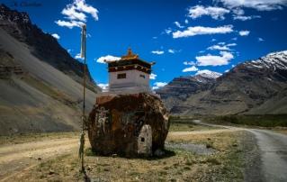 kaza to kumsum pass spiti valley roadtrip