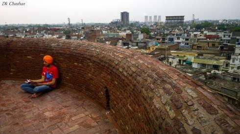 Fort gurudwara at Bhatinda punjab