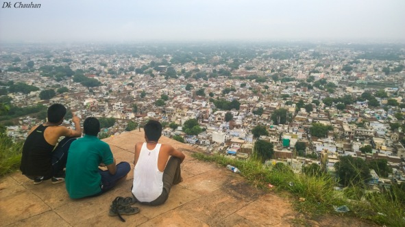 View of gwalior city from Gwalior fort