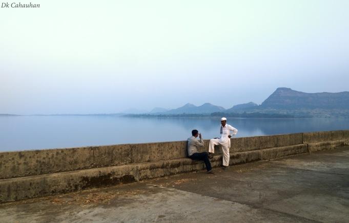 Lake near trimbakeshwar