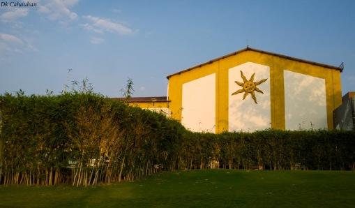 Inside sula wine yard nasik