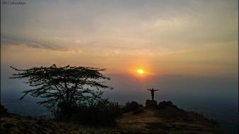 Sunset near aurangabad maharastra