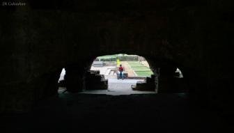 View inside Golkonda fort hyderabad