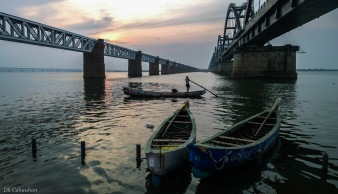 sunset at rajahmundary telangana