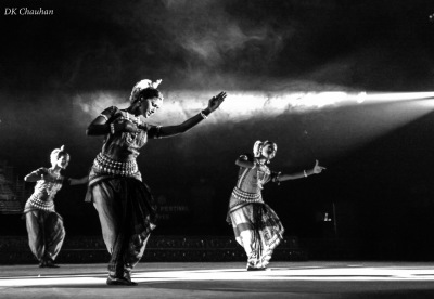 Dance at konark festival of odisha