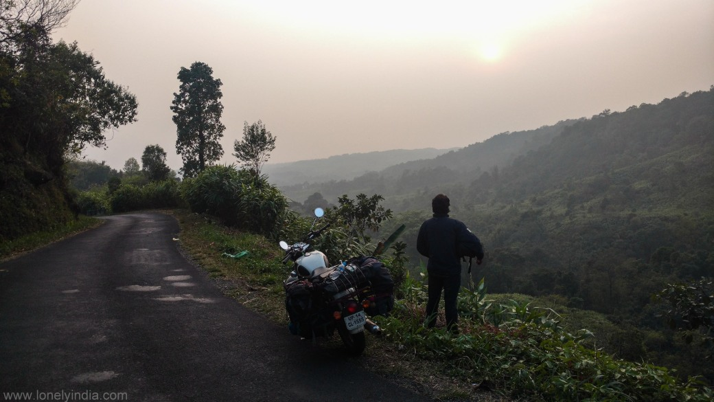 road near cleanest village of asia