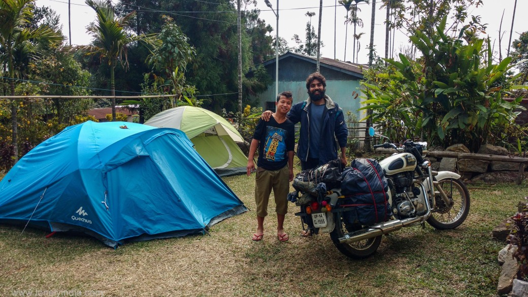 camping at cleanest village of asia