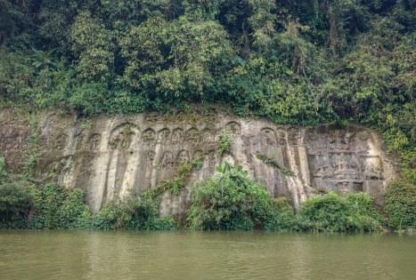 rock cut structures chobimora tripura