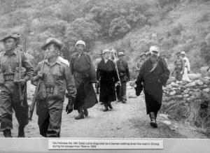 present dalai lama escape from tibet to India