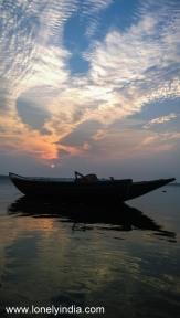 sunset near jharia jharkhand