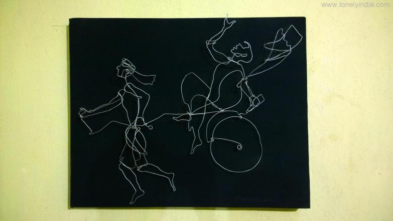 wire painting murshidabad west bengal