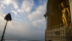 Shanti stupa darjeeling west bengal
