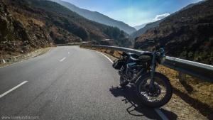 highway to thimpu bhutan