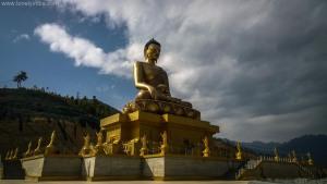 budha statue thimpu bhutan
