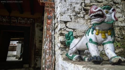 Cherry monastery Bhutan