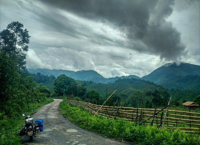 Arunachal pradesh remote areas visit on on a Royal enfield