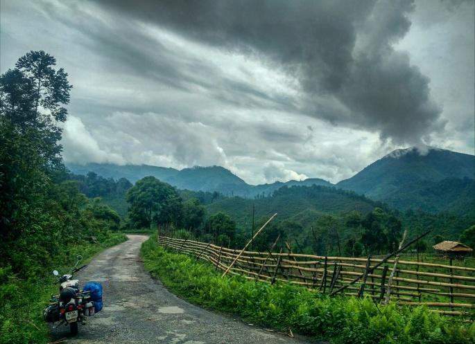Arunachal pradesh remote areas visit on on a Royal enfield