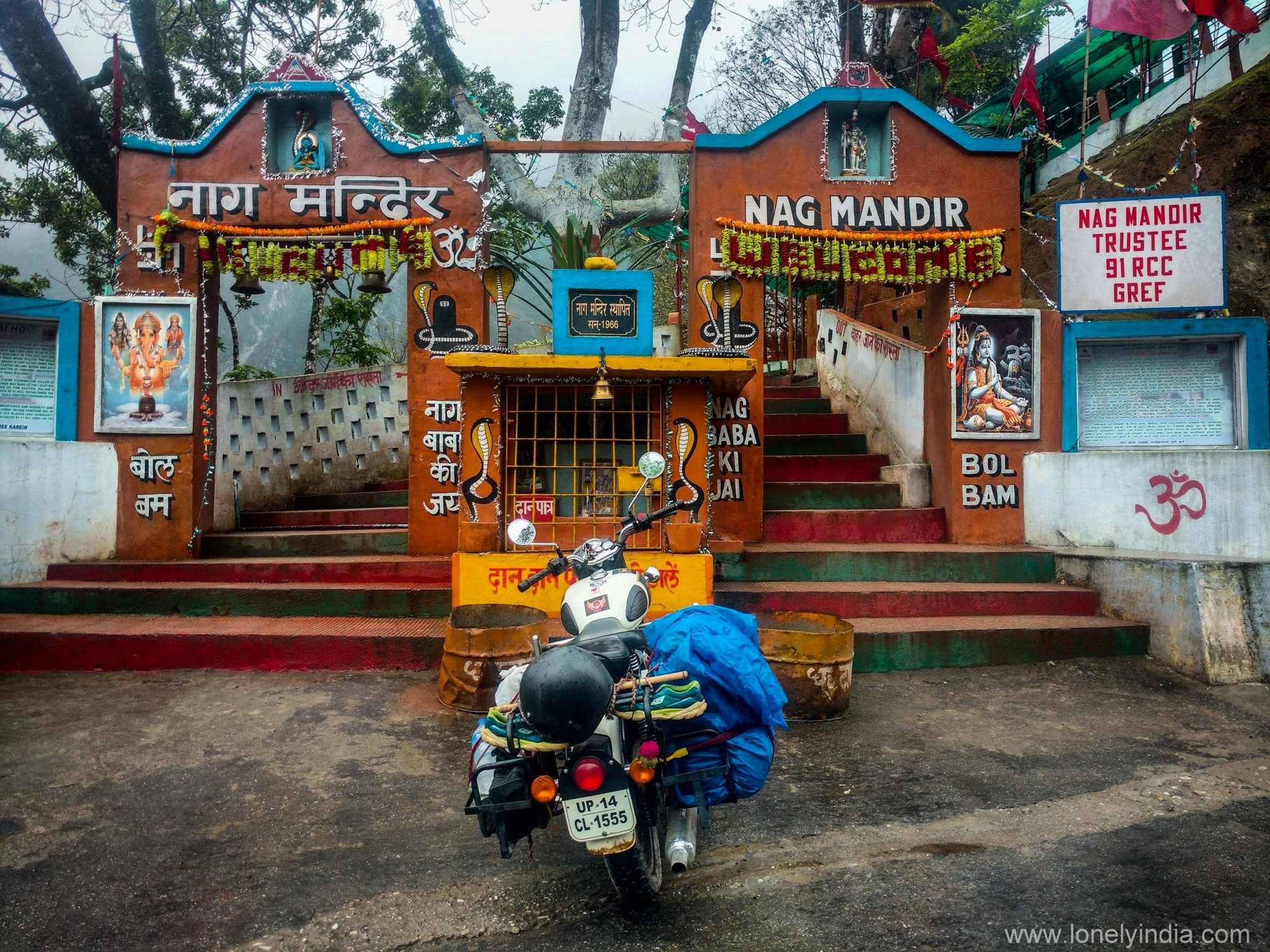 Visit to Nag Temple Arunachal Pradesh on a Royal enfield