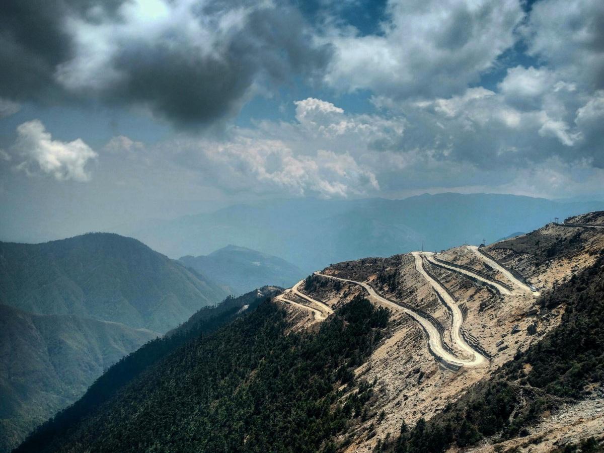 Sella pass Arunachal pradesh during India bike tour