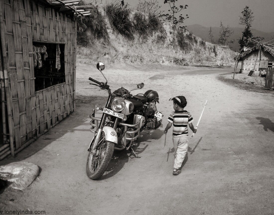 Mizoram tripura border road