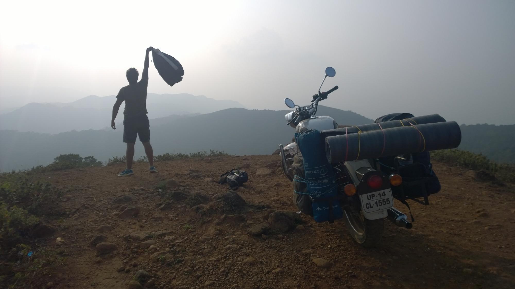 mandalpatti peak camping