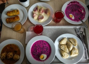 Traditional food of Poland