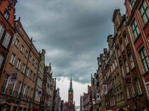 Building of Gdansk, Poland