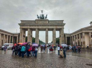 gate of Berlin or berlin gate in Germany
