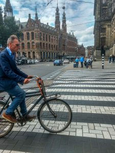 Cycling in Amsterdam Netherland