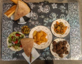 Moroccan food by Couchsurfing host In belgium