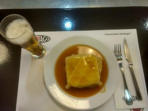 Local special food of portugal during backpacking trip