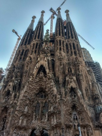 Most beautiful cathedral in Europe at Barcelona, Spain