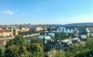 Prague Czech during backpacking europetrip