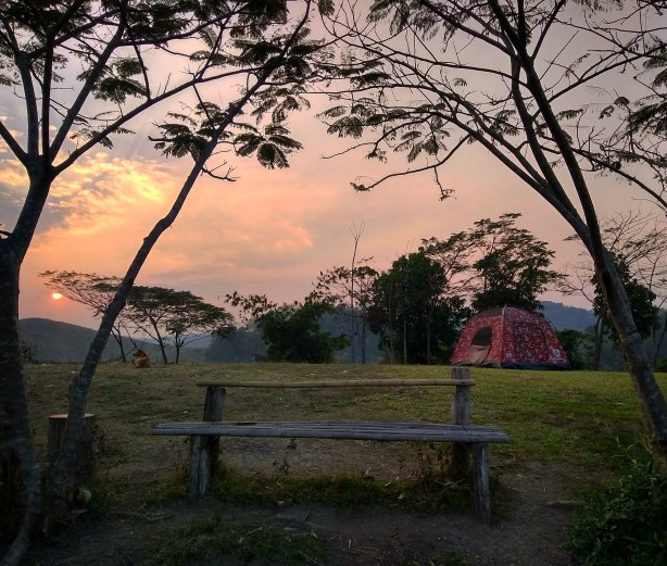 Camping In Phutoei National Park, Thailand