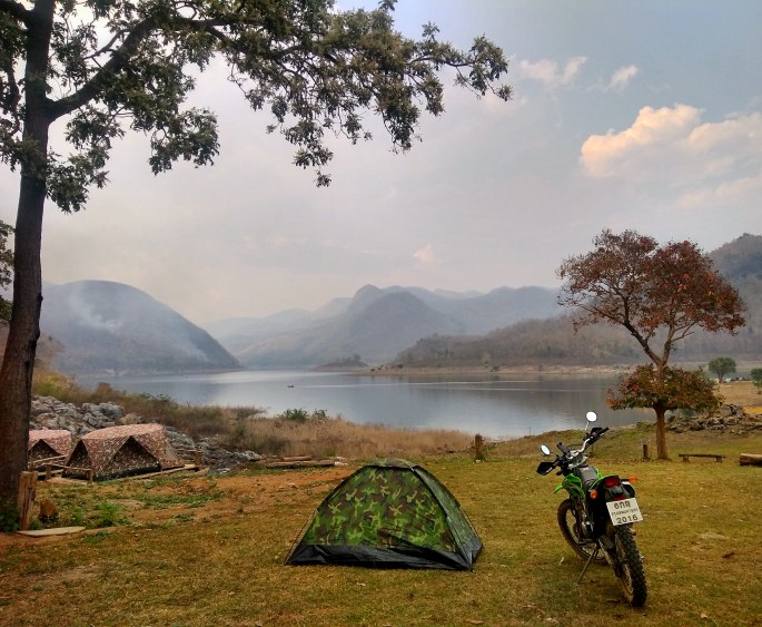 Camping in Mae Ping National Park, Thailand