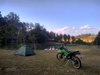 Camping in salawin national park thailand