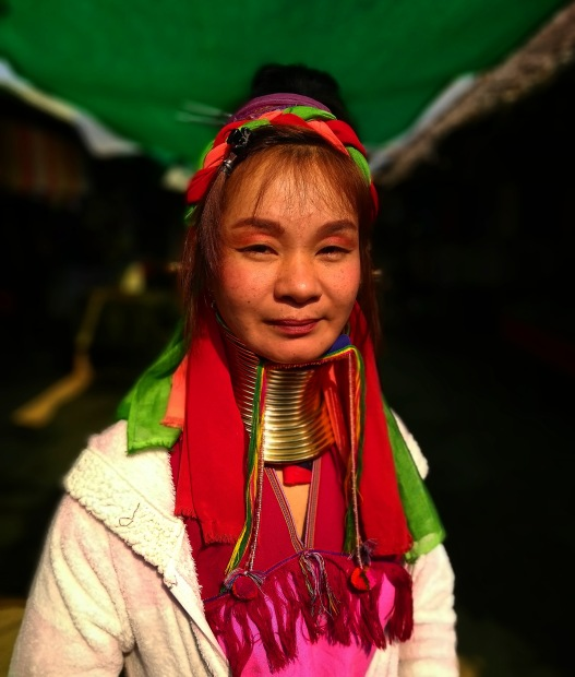 long neck people from Mae Hong Son , Thailand