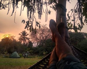 Camping in pai , Thailand