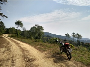 Offroad trails in Thailand
