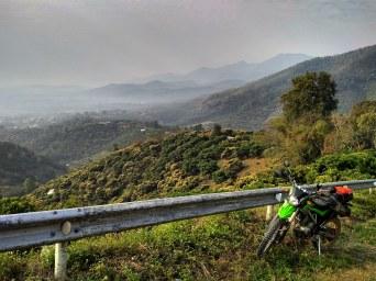 Mountains in north thailand near Chiang rai